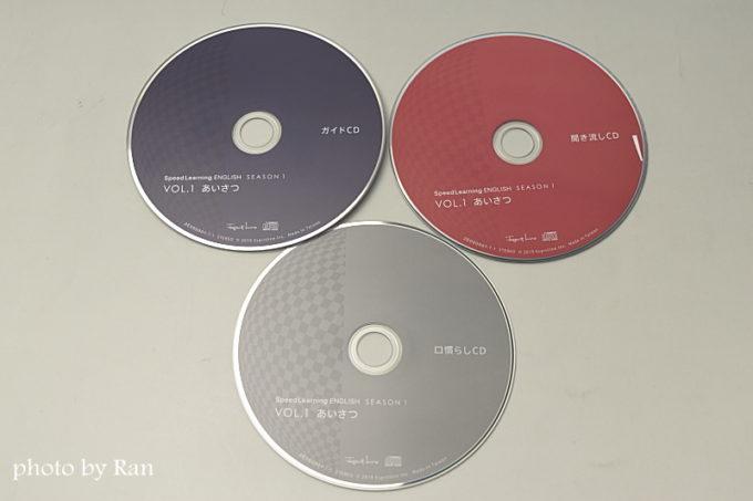 スピードラーニング英語CD